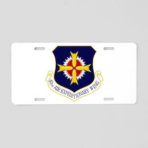 40th AEW Aluminum License Plate
