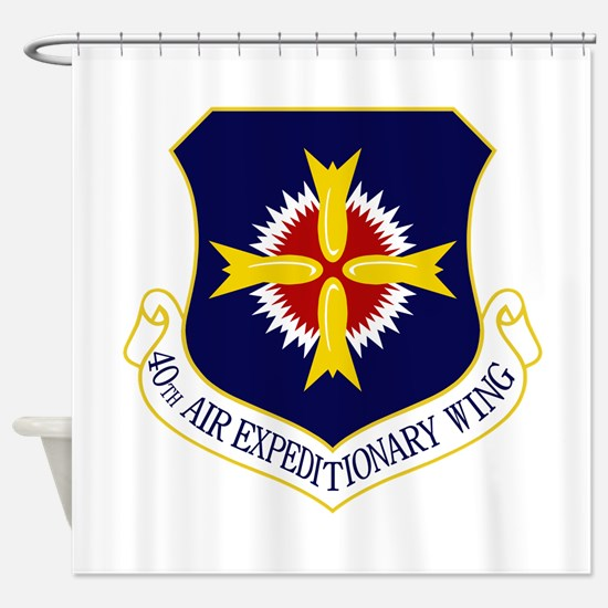 40th AEW Shower Curtain