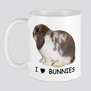 """""""I love bunnies 1"""" Mug"""