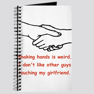 Shaking Hands Is Weird Journal