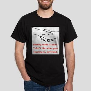 Shaking Hands Is Weird T-Shirt