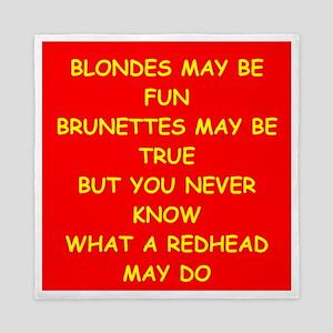 redhead Queen Duvet