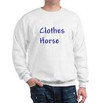 Clothes Horse Sweatshirt