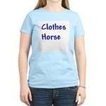 Clothes Horse Women's Pink T-Shirt