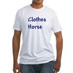 Clothes Horse Fitted T-Shirt