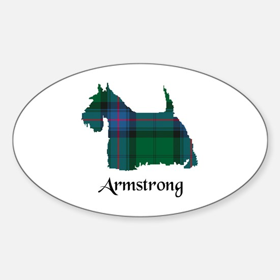 Terrier - Armstrong Sticker (Oval)