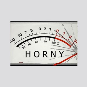 Horny-meter Rectangle Magnet