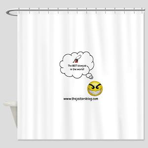The BEST Blowjob Shower Curtain