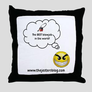 The BEST Blowjob Throw Pillow