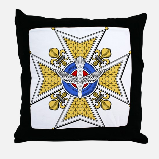 Holy Ghost (France) Throw Pillow