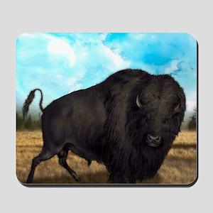 Prairie Bison Mousepad