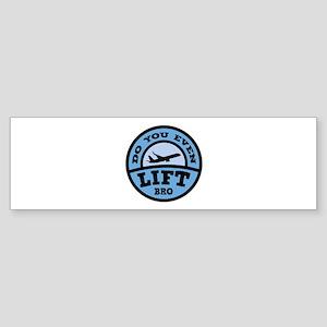 Do You Even Lift Bro? Sticker (Bumper)