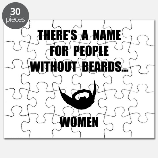 Beard Women Puzzle