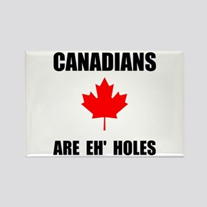 Canadians Eh Holes Rectangle Magnet (10 pack)
