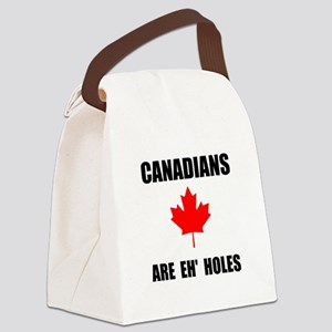 Canadians Eh Holes Canvas Lunch Bag