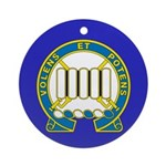 7th Infantry Regiment Ornament (Round)