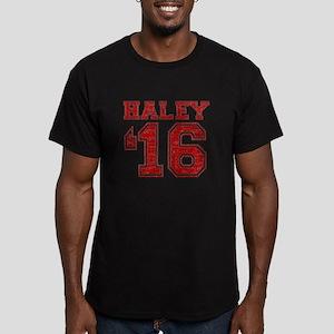 Haley 2016 Men's Fitted T-Shirt (dark)