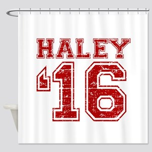 Haley 2016 Shower Curtain