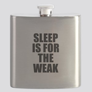 Sleep Is For The Weak Flask