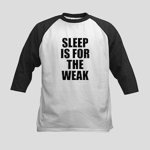 Sleep Is For The Weak Kids Baseball Jersey