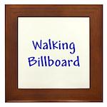 Walking Billboard Framed Tile