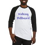 Walking Billboard Baseball Tee