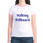 Walking Billboard Jr. Ringer T-Shirt