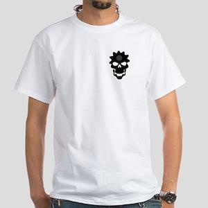 Skull Cog White T-Shirt
