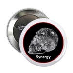 """Crystal Skull Synergy 2.25"""" Button (10 pack)"""