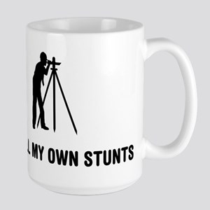 Land Surveying Large Mug