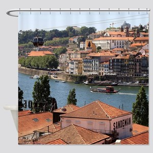 Porto, Portugal, from the roof tops Shower Curtain