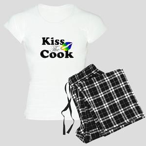 Kiss The Cook Rainbow Pajamas
