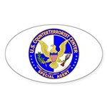 CTC: US CounterTerrorist Oval Sticker