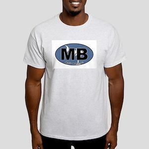 Myrtle Beach, SC Ash Grey T-Shirt