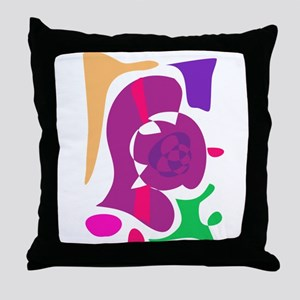 Ancient Shellfish Throw Pillow