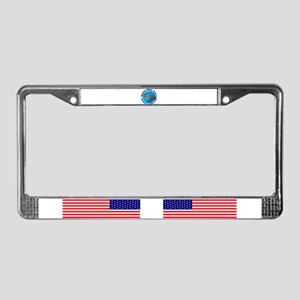 Great days start with stripers License Plate Frame