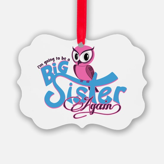 Going to be a Big Sister Again! Ornament
