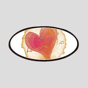 Ti Amo Amore Mio Patches