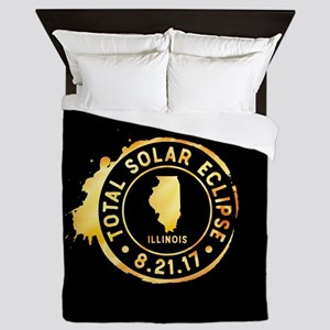 Eclipse Illinois Queen Duvet