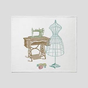 Dressmaker Throw Blanket
