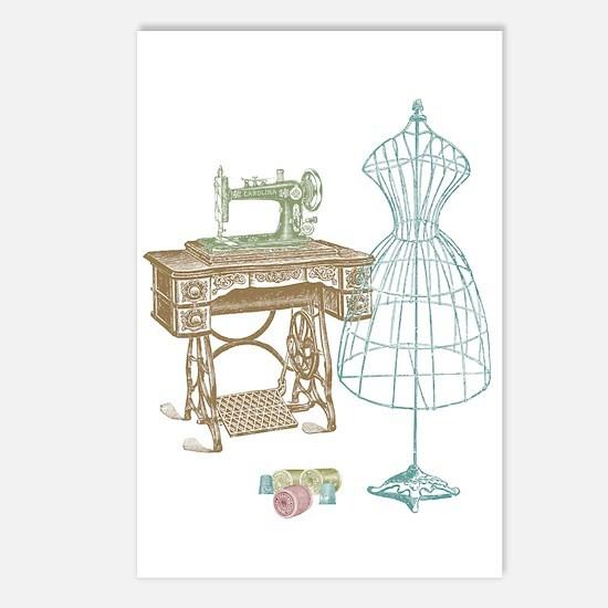 Dressmaker Postcards (Package of 8)