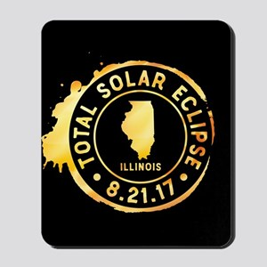 Eclipse Illinois Mousepad