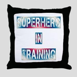 Superhero in Training Throw Pillow