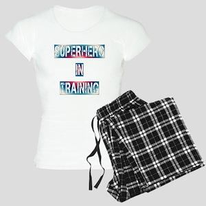 Superhero in Training Women's Light Pajamas