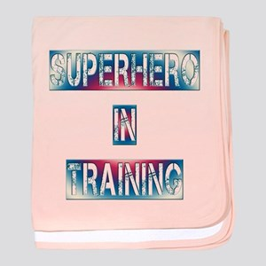 Superhero in Training baby blanket