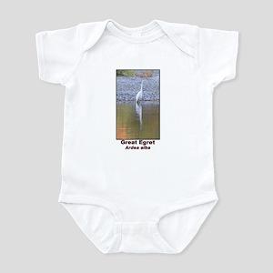 Great Egret Infant Bodysuit