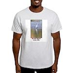 Great Egret Ash Grey T-Shirt