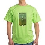 Great Egret Green T-Shirt