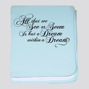 Dream Within A Dream baby blanket