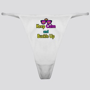 Crown Sunglasses Keep Calm And Buckle Up Classic T